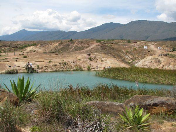 Blue-Pools-in-Villa-de-Leyva. Colombian Highlands