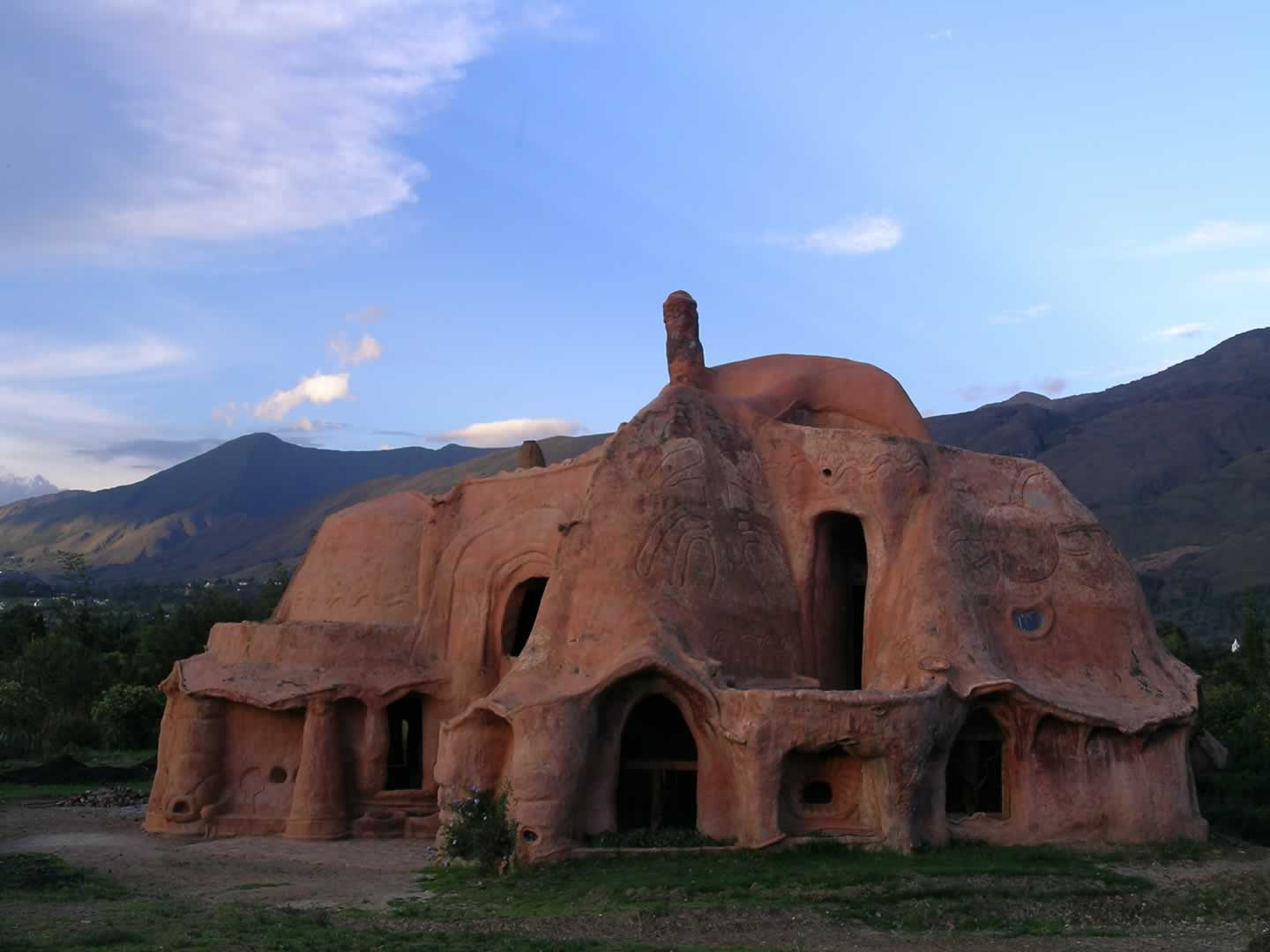 Casa de Barro (Clay house) Villa de Leyva. North-East-Andes-with-Colombian-Highlands