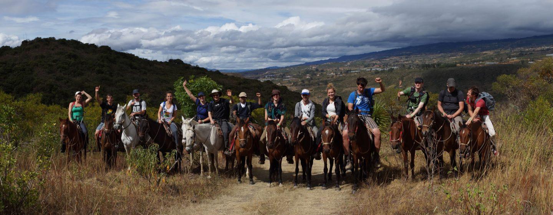 Horse Backriding to El-Arca-Verde-in-Villa-de-Leyva-, Gachantiva.