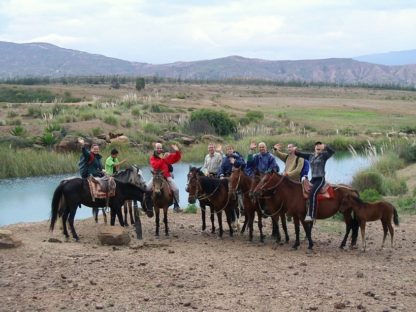 Horse Backriding at Villa de Leyva, Desert (1)