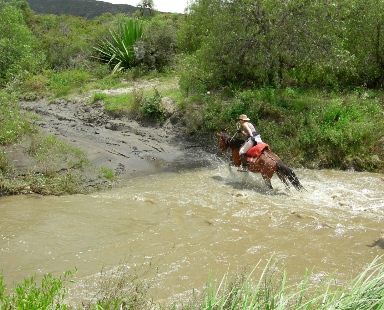 Horse Backriding at Villa de Leyva, Desert (3)