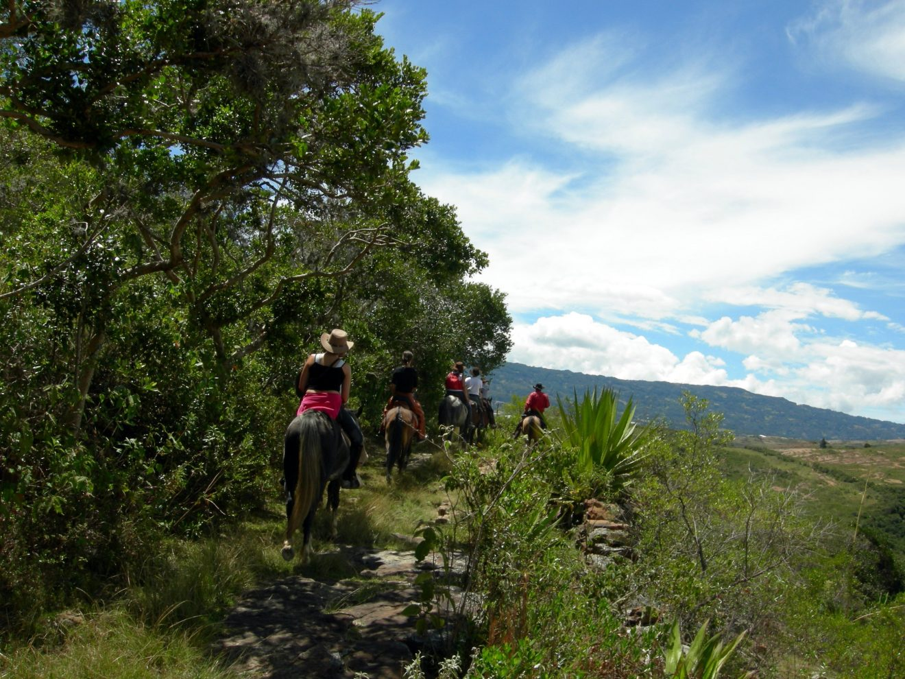 Horse Backriding at Villa de Leyva, Desert (4)
