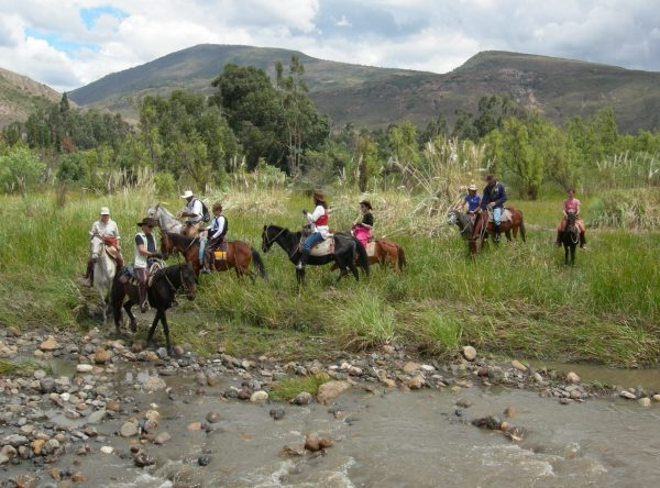 Horse Backriding at Villa de Leyva, Desert (5)