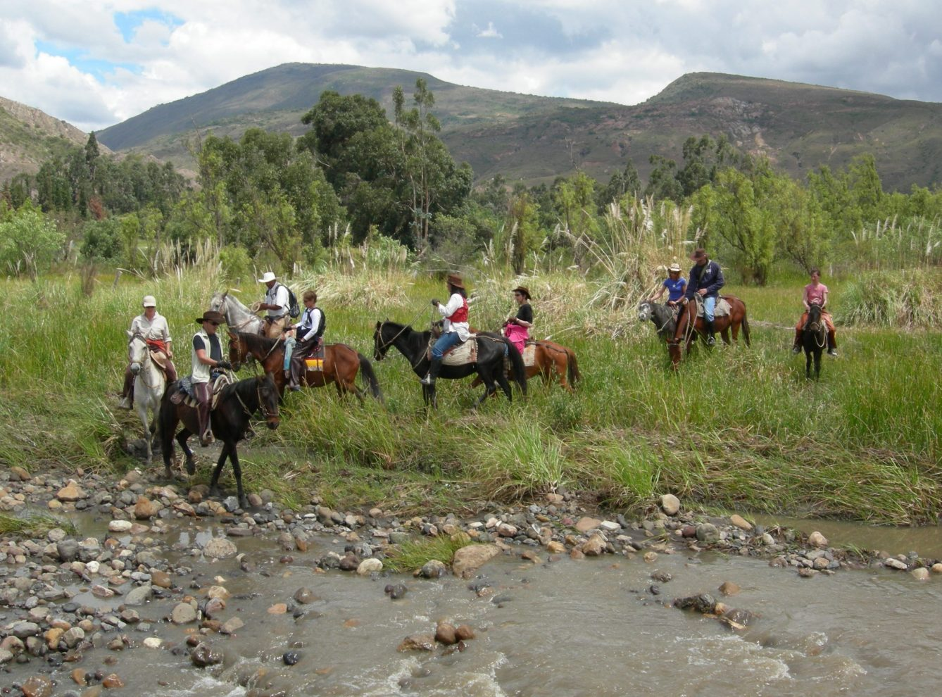 Horse Backriding at Villa de Leyva, Desert (5)