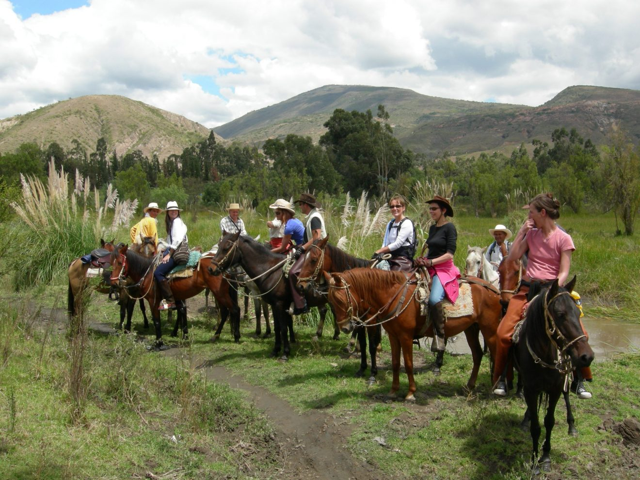 Horse Backriding at Villa de Leyva, Desert (6)