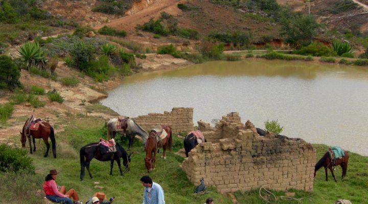 Horse Backriding at Villa de Leyva, Desert (7)