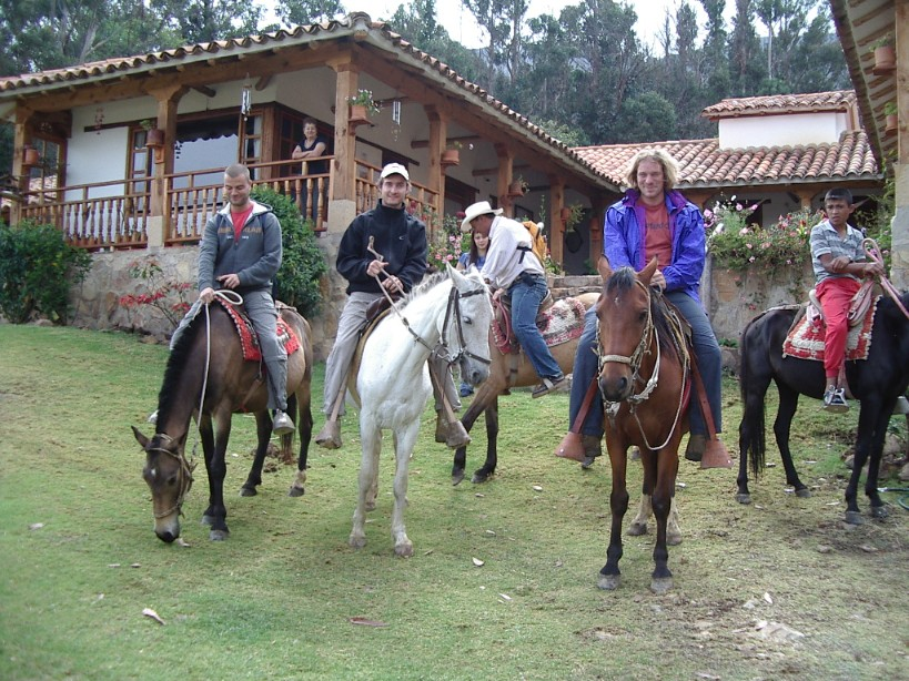 Horse Backriding at Villa de Leyva, Desert (8)