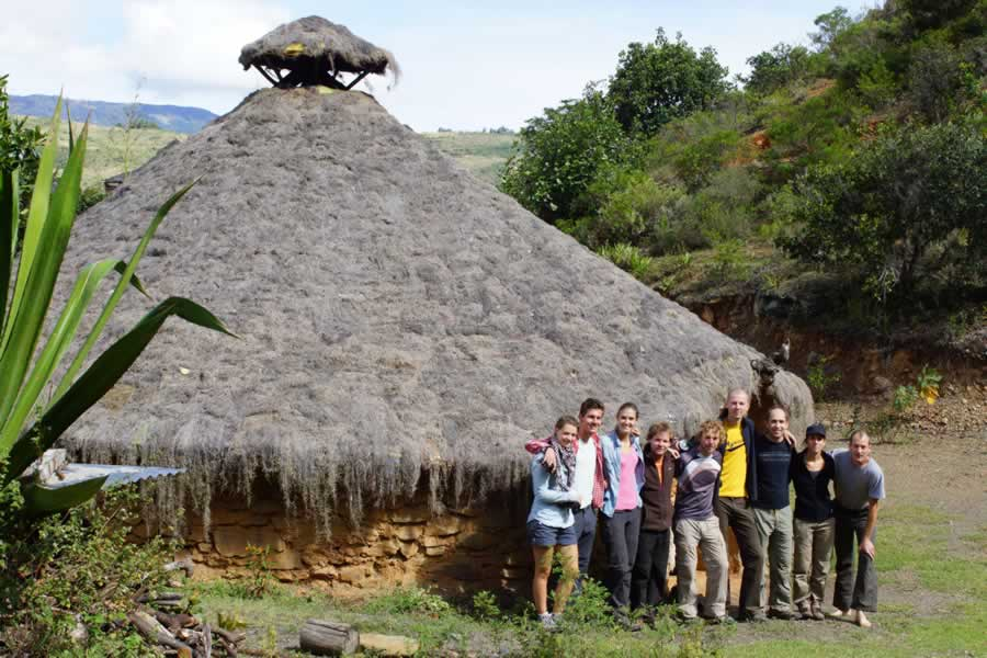 Ceremonial Maloka. El Arca Verde, Gachantiva, Boyacá. Mountain-Trips-with-Colombian-Highlands-2