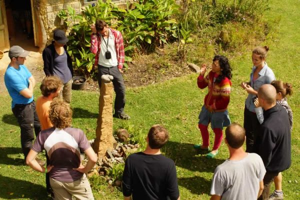 Permaculture workshop at Arca Verde, Gahantiva, Boyacá. Mountain-Trips-with-Colombian-Highlands