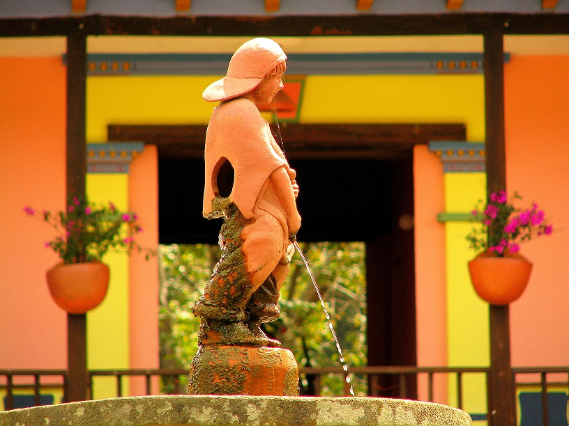 Cultural and History, Raquira with Colombian Highlands (126)