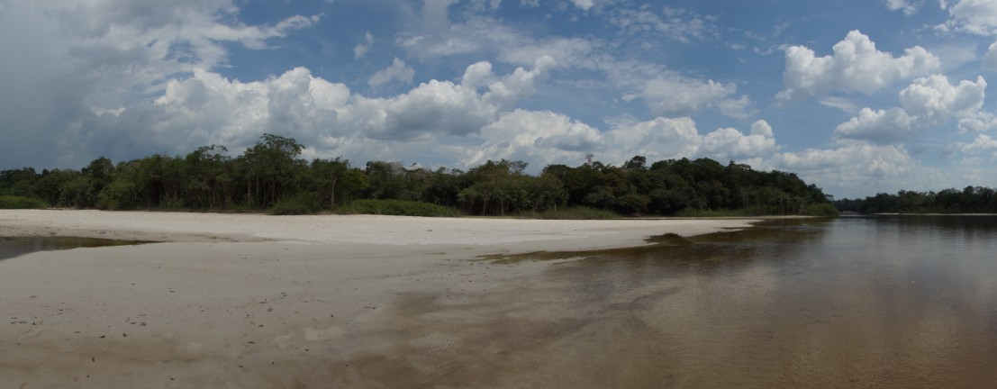 White Beaches, Inirida River, Guainia, Colombia