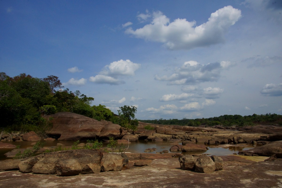 Inírida River, Guainia Colombia