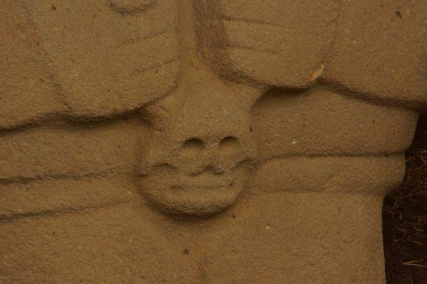 Detalle de Esculturas de San Agustin, Colombia, Colombian Highlands Tours