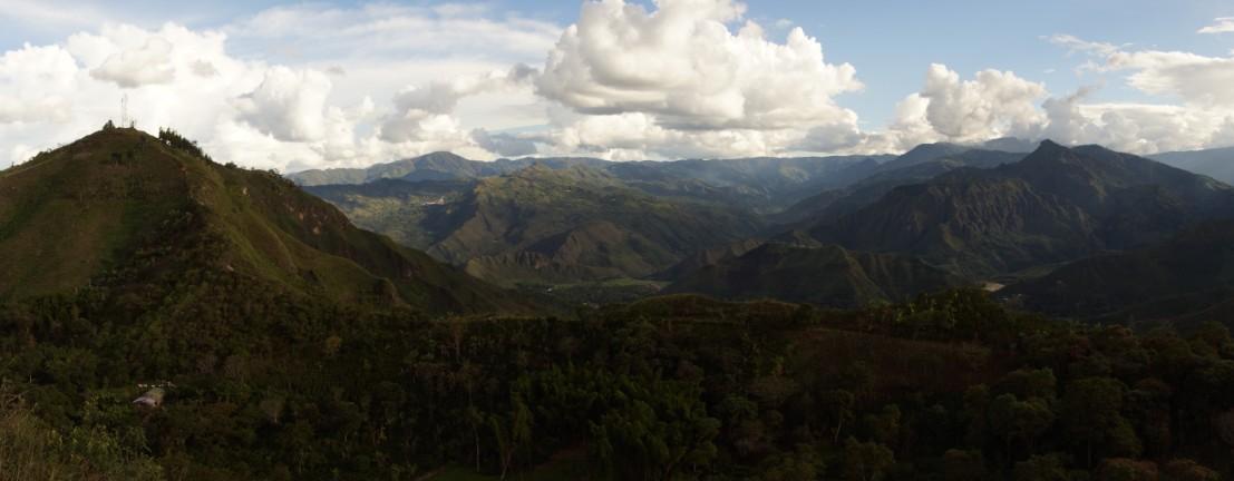 Landscape near San Andes de PIsimbala, Colombia, Colombian Highlands Tours