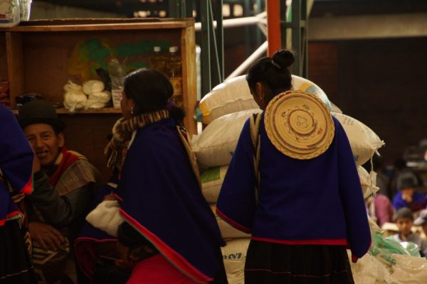 Mujeres Paeces, Colombian Highlands