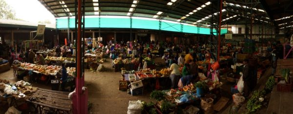 Market in Silvia Colombia, Colombian Highlands