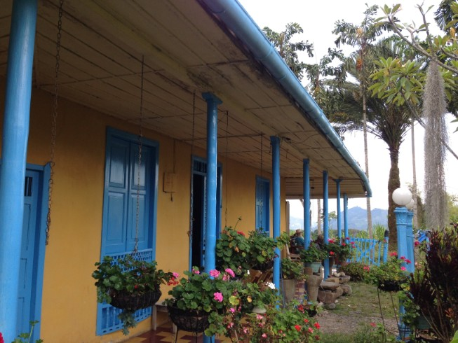 Classic House from the Coffee Region, Jardin Antioquia, Colombia