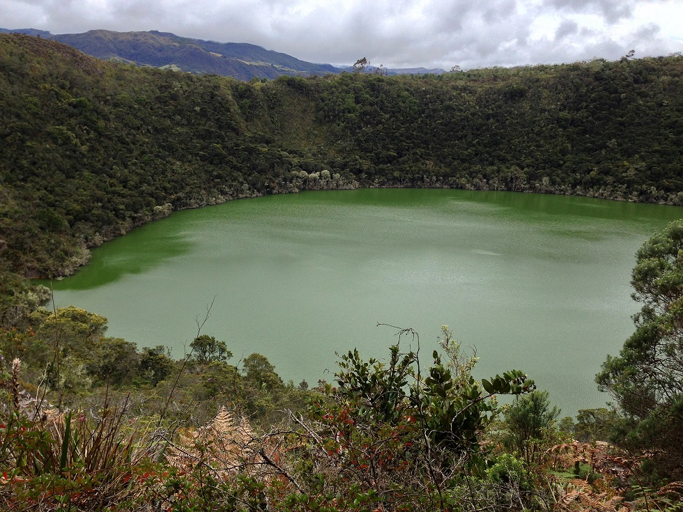 Guatavita Lake, Tour Colombia. Transfers of Colombian Highlands (2)